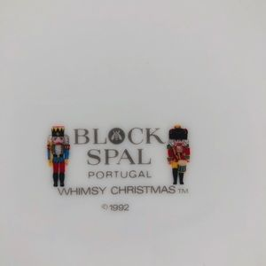 Block Spal Dining - 2 Block Spal Portugal dinner plates